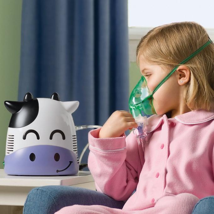 Предпочтительнее делать ингаляции с помощью компрессионного небулайзера, так как ультразвуковой прибор разрушает многие лечебные ингредиенты