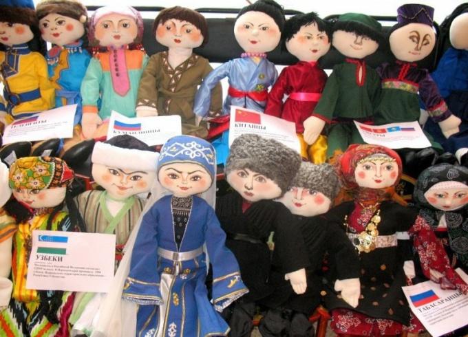 Куклы «Народы России»