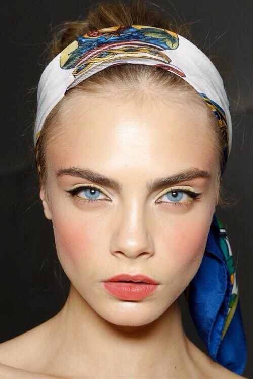 Какой макияж в моде весной-летом 2014