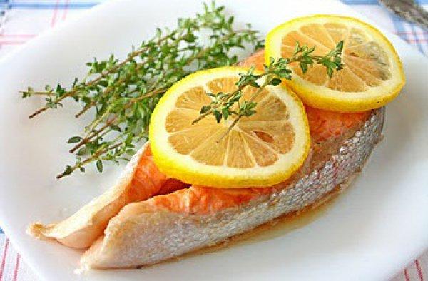 Рыба с лимоном с пошагово