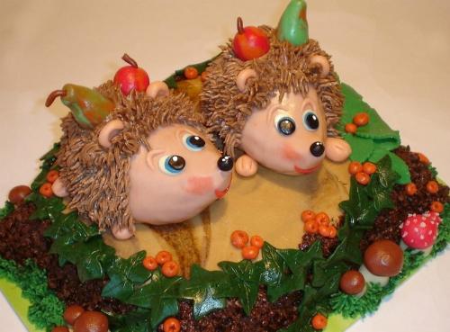 """Торт """"Сладкие ёжики"""""""