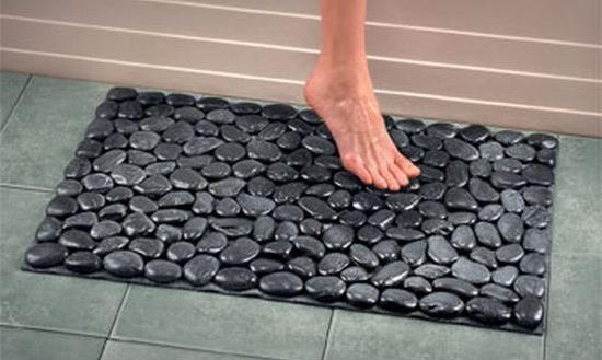 Как сделать массажный коврик из гальки