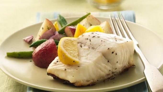 Рыбная ясса (рыба по-сенегальски)