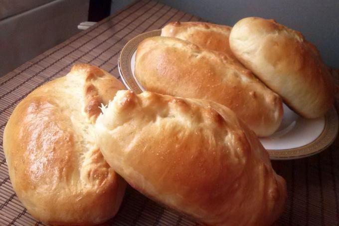 Тесто пирожковое быстрого приготовления