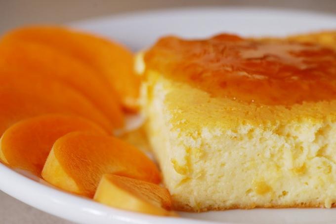 Творожники с апельсином в духовке