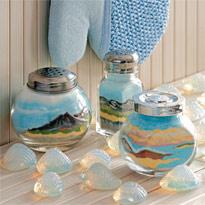 Как сделать картину из соли в стеклянной банке