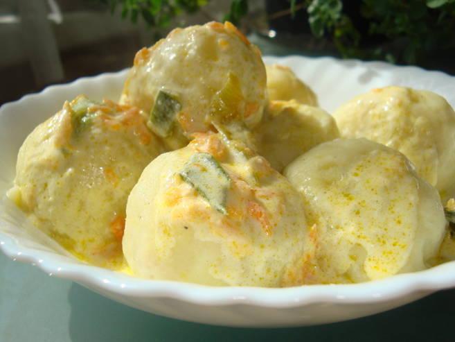 Как приготовить картофельные кнели с грибами