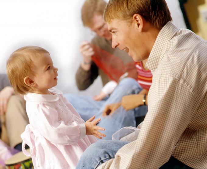 Когда дети начинают говорить?