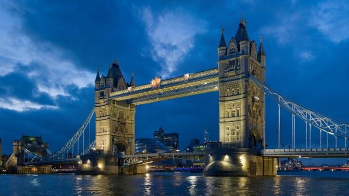 Лондон - столица Англии