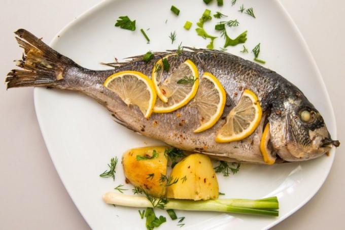 Чем интересна рыба-дорада