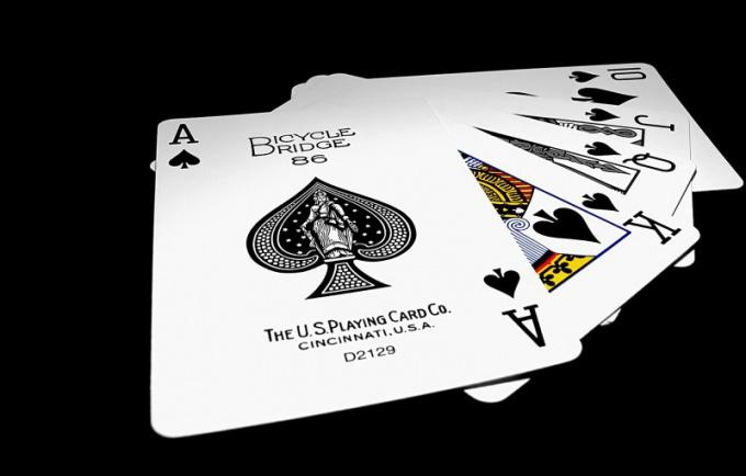 Как называются игральные карты