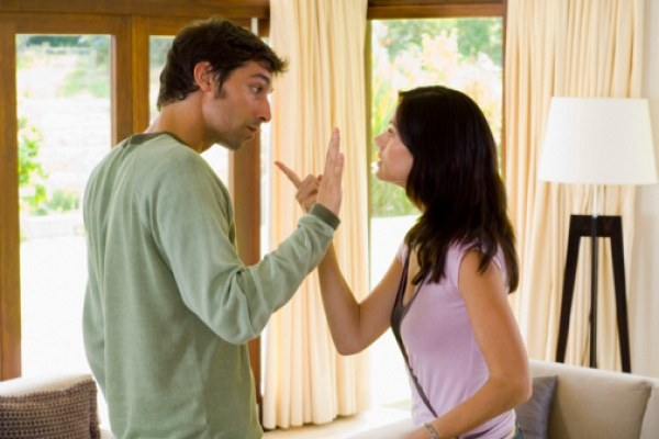 It is not necessary to Express their grievances to her husband in a rude manner