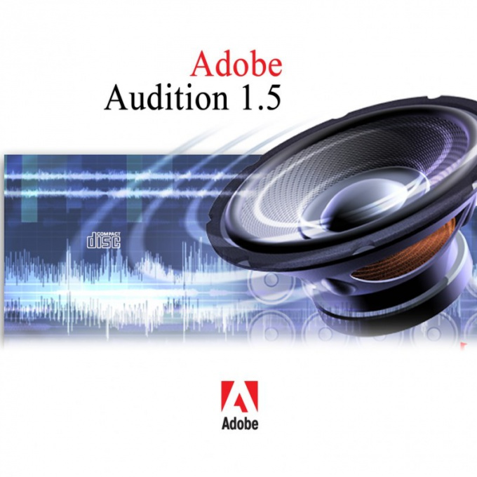 How to use the program Adobe Audition