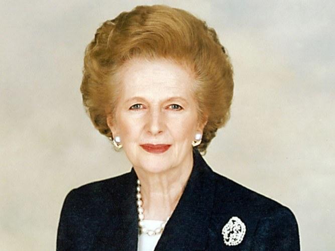 Маргарет Тэтчер, премьер-министр Великобритании (1979-1990)