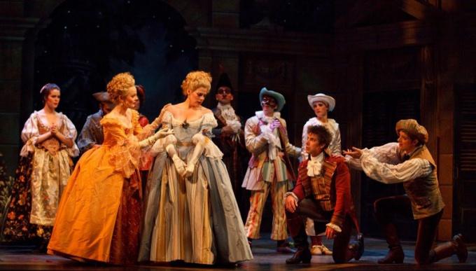 Сцена из оперы В.А.Моцарта «Свадьба Фигаро»