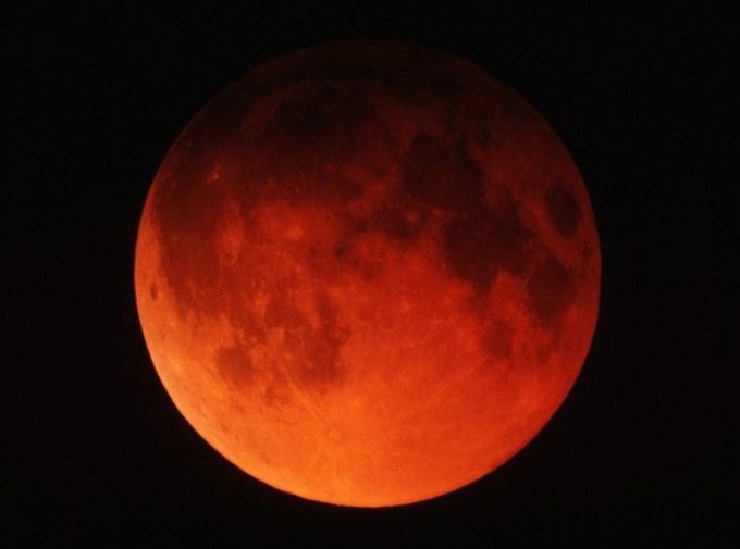 """Что обозначает термин """"кровавая"""" луна"""