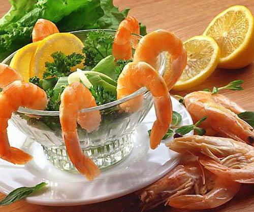 Как похудеть с креветочной диетой