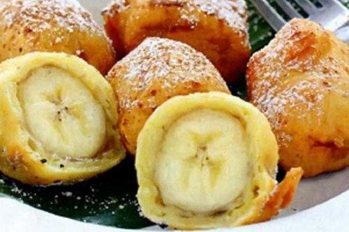 Бананы в медово-лимонной глазури