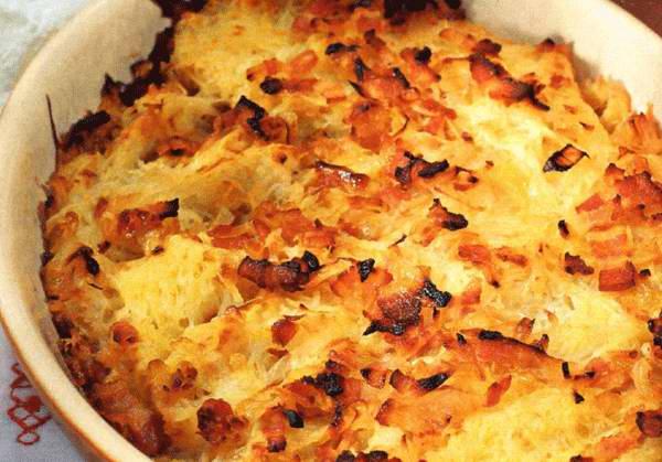 Как приготовить картофельную бабку