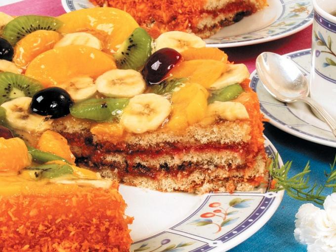 """Торт """"Тропический"""""""