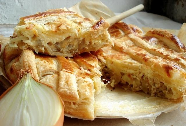 Как приготовить классический луковый пирог