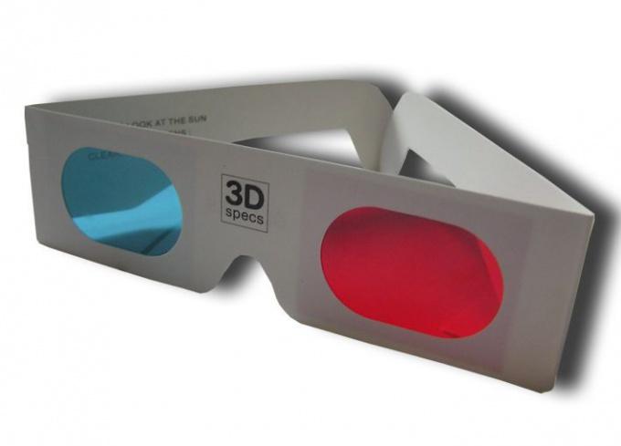 Как сделать 3D-очки из подручных средств?