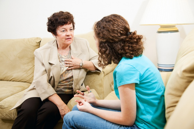 Главное в консультировании - зрительный контакт