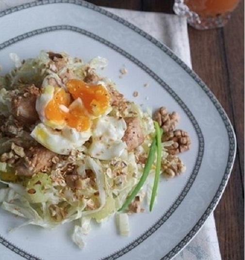 Оригинальный салат из пекинской капусты