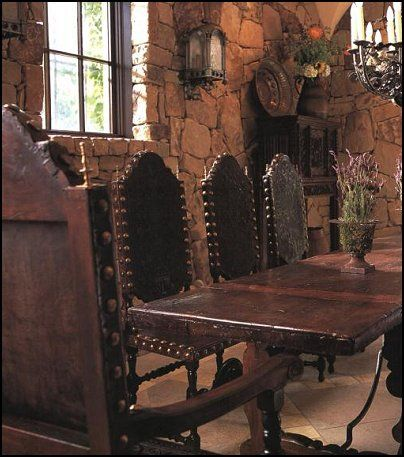 Мебель в средневековом стиле своими руками 68