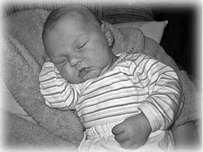 Учимся укладывать ребенка спать