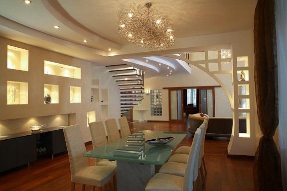 Как организовать освещение разных комнат