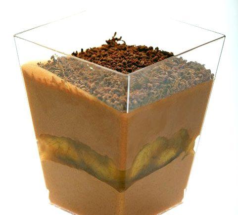 Нежный шоколадный десерт