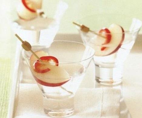 Джин с персиком и чили