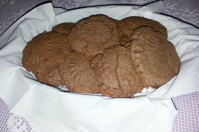 Печенье из нутеллы
