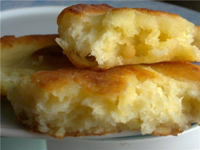 Как приготовить картофельные пышки