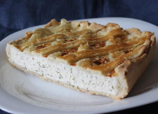 Пирог из куриного мяса