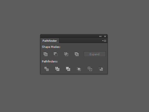 Панель Pathfinder в Adobe illustrator