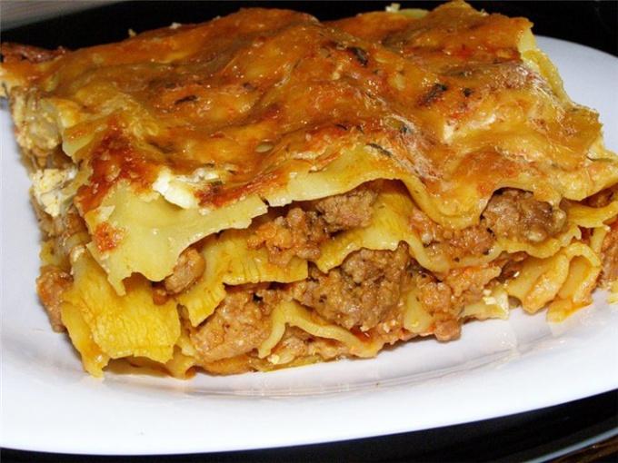 Лазанья - жемчужина итальянской кухни