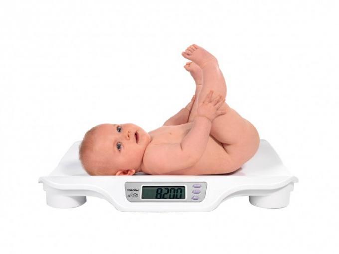 Физическое развитие ребенка в первый год жизни