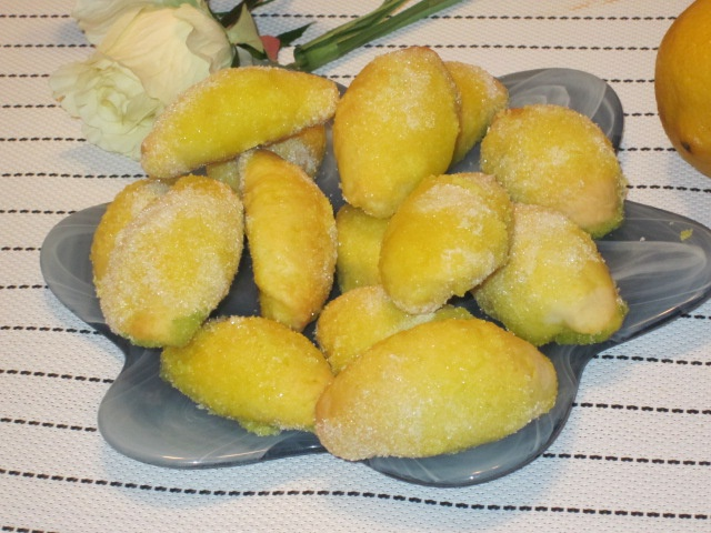 """Как приготовить печенье """"Лимончики"""""""