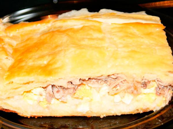 Запеканка картофельная со шпротами