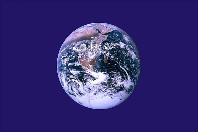 Флаг Земли не является официально признанным флагом, но он связан с Днем Земли