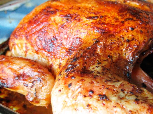 Вкусная курица в миндальной корочке