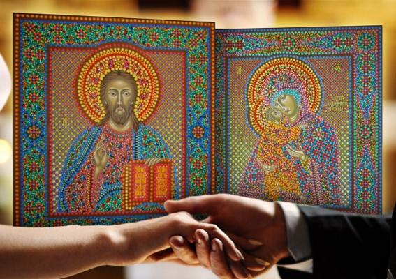 Как выбирать венчальные иконы