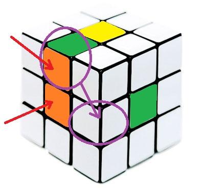 Как собрать второй слой кубика Рубика по шагам
