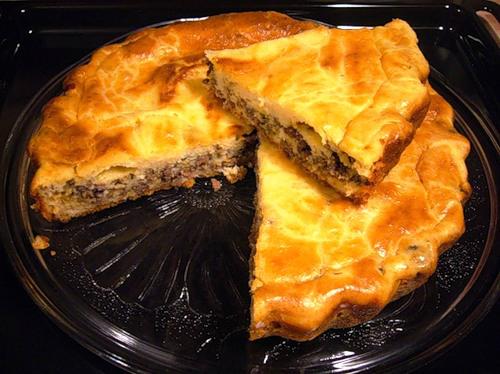 Мясной пирог от Ирины Аллегровой