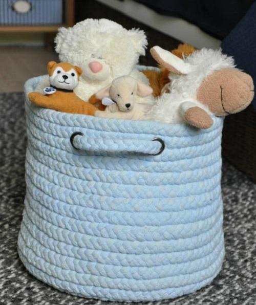 Оригинальная корзина для игрушек