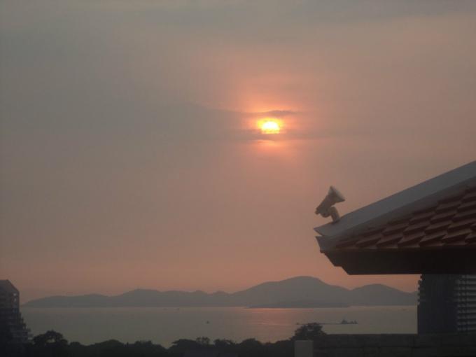 Вид с крыши отеля Ayara Palace