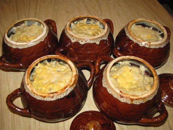 Волшебный горшочек: телятина в омлете