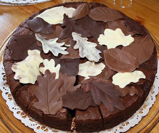 Торт «Шоколадный сад»